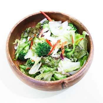 オリーブオイルと野菜ブイヨンのサラダ