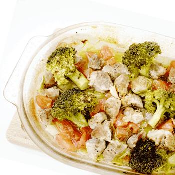 あごだしで『さっぱり夏野菜のオーブン焼き』